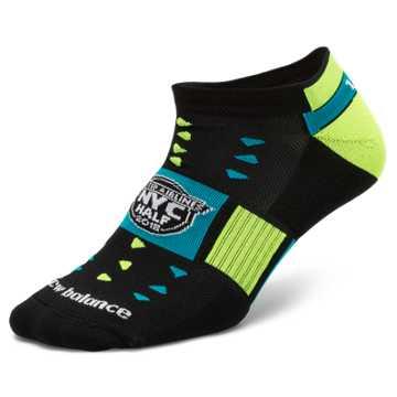 New Balance United Half No Show Sock, Black