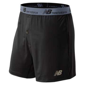 New Balance Loose Fit Single Pack Boxer, Black