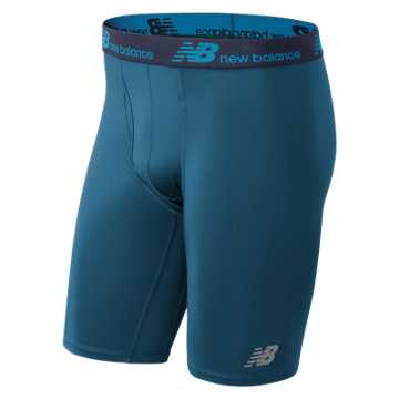 New Balance NB Dry 9 Inch Boxer Brief 1 Pair, Dark Neptune