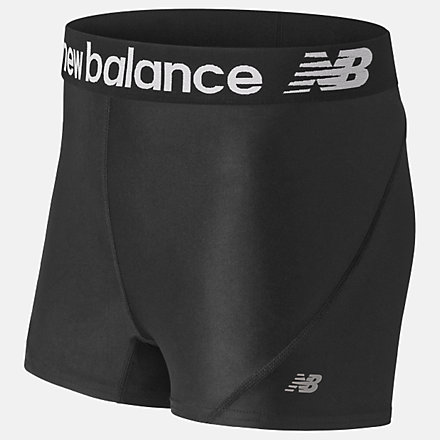"""New Balance W 3"""" Distance Short, NB1104BK image number null"""
