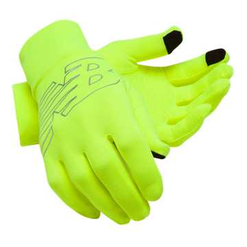 New Balance NYC Marathon Lightweight Running Glove, Hi Lite