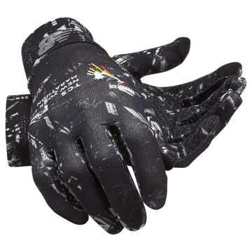 New Balance TCS NYC Marathon Lightweight Gloves, Black with White