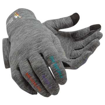 New Balance TCS NYC Marathon Lightweight Gloves, Grey