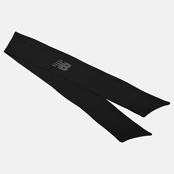 New Balance Tie Back Headband, NB2011BK