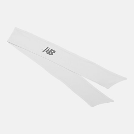 New Balance Tie Back Headband, NB2011WH image number null