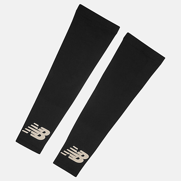 New Balance Cold Weather Arm Sleeves, NB2013BLK