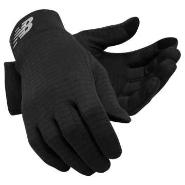 New Balance Grid Fleece Glove, Black