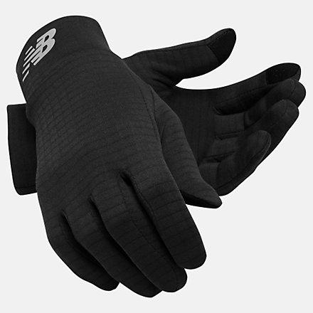 New Balance Grid Fleece Glove, NB2014BK image number null