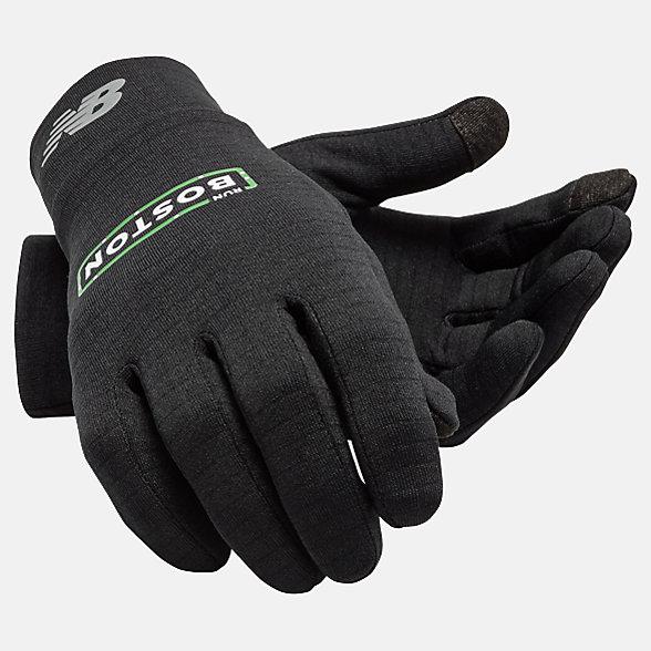 New Balance Run Boston Gloves, NB2014BKB