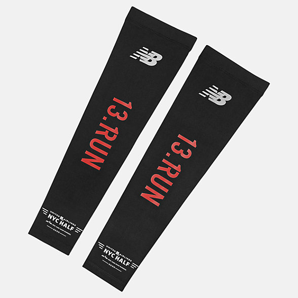 New Balance UA NYC Half Arm Sleeves, NB2021CBLK