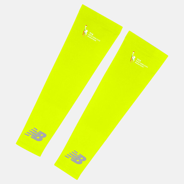 New Balance TCS NYC Marathon Arm Sleeves, NB2021MHL
