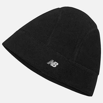 New Balance Heavy Fleece Hat, NB2023BK image number null
