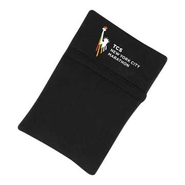New Balance NYC Marathon Wrist Wallet, Black