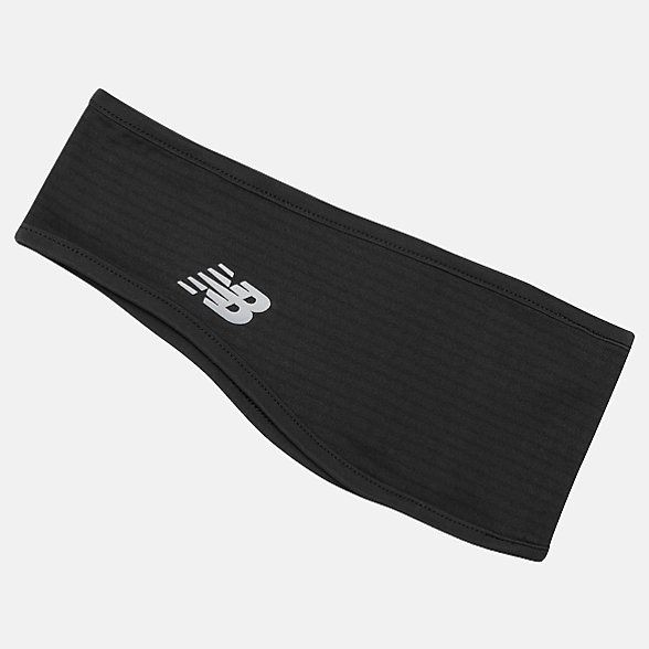 New Balance Grid Fleece Headband, NB2036BK