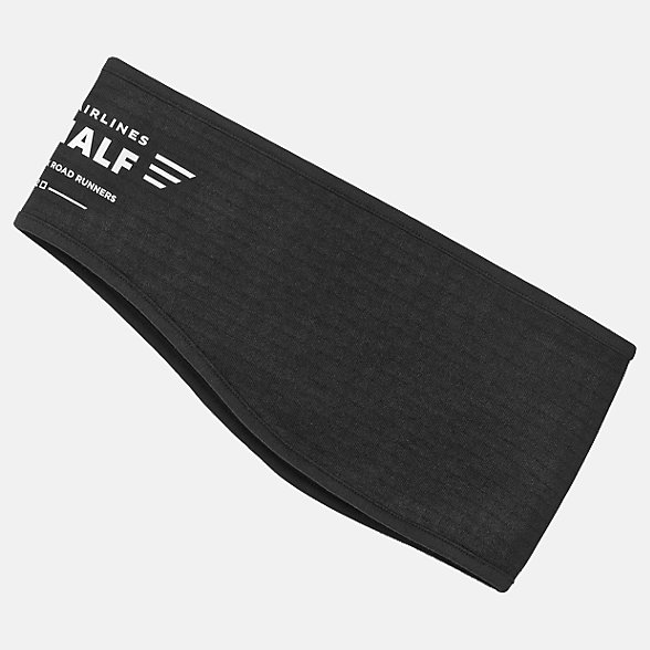 New Balance UA NYC Heavyweight Stretch Headband, NB2036CBLK