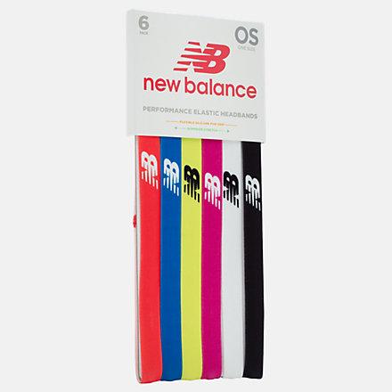New Balance Team Elastic Headband 3 Pack, NB20436AST image number null