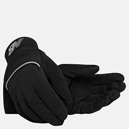 New Balance Performance Insulate Gloves, NB2060BK image number null