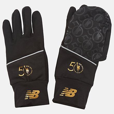 New Balance NYC Marathon Convertible Glove, NB2060MBKW image number null