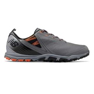 New Balance NB Minimus SL, Grey with Orange & Black