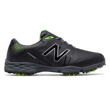 New Balance New Balance Golf 2004, Black with Toxic & Dark Grey