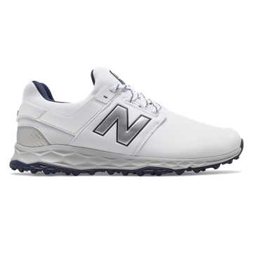 New Balance Fresh Foam LinksSL, White with Navy