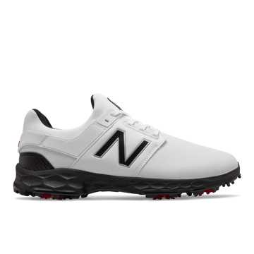New Balance Fresh Foam LinksPro, White with Black