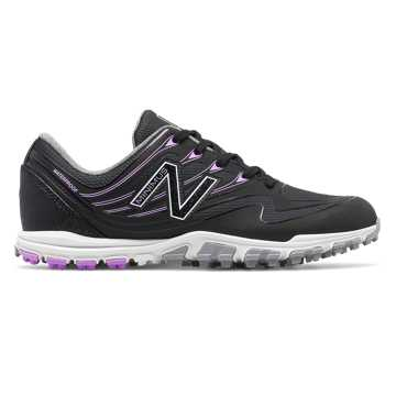 New Balance Minimus Golf 1005, Black with Purple