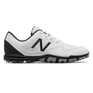 New Balance Minimus Golf 1005, White with Black