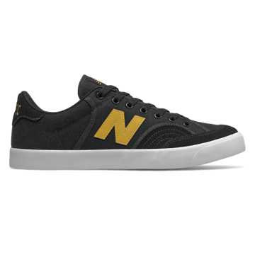 New Balance Pro Court 212, Black with Yellow