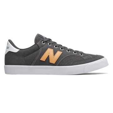 New Balance Numeric 212, Grey with Yellow