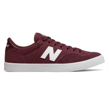New Balance Numeric 212, Burgundy with White