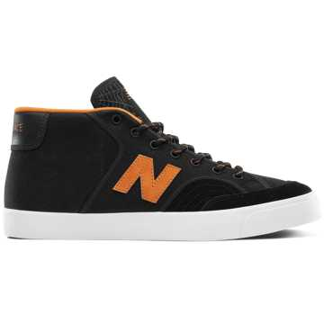 New Balance Numeric 213, Black with Orange