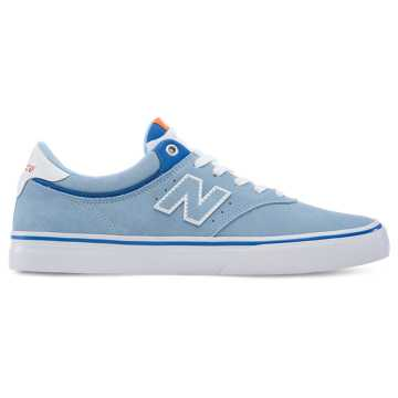 New Balance 255, Light Blue with Blue