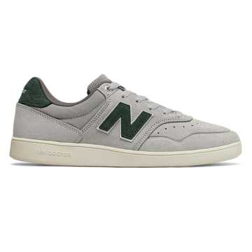 New Balance Numeric 288, Grey with Forest Green