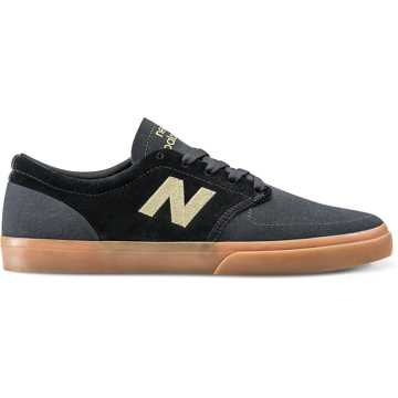 New Balance 345, Black with Yellow Cream