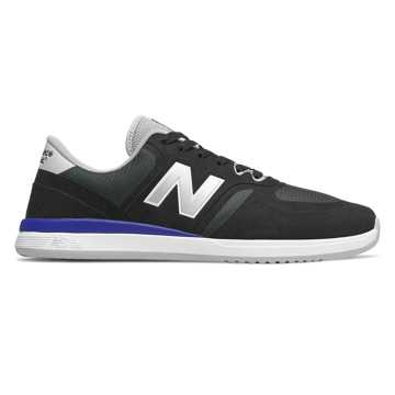 New Balance Numeric 420, Black with Royal Blue