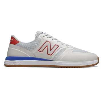 New Balance 420, White with Red