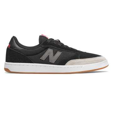 New Balance Numeric 440, Black with Grey