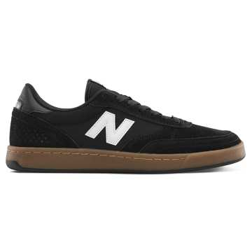 New Balance Numeric 440, Black with Grey & White