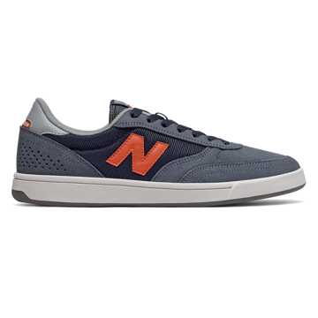 New Balance 440, Navy with Grey & Orange