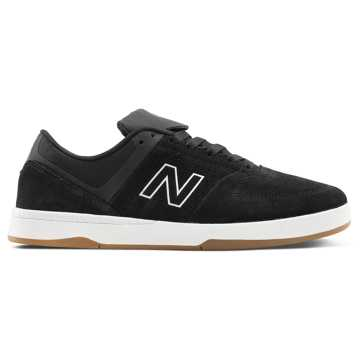 New Balance Numeric 533v2, Black with White