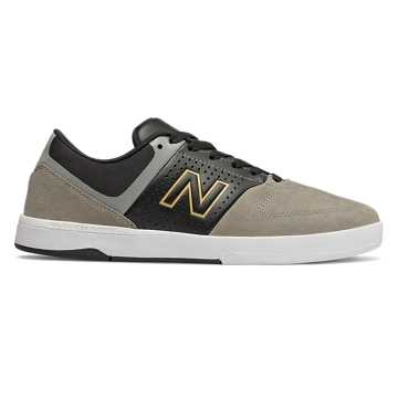New Balance Numeric 533, Black with Grey