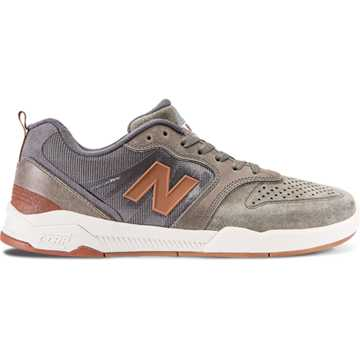 New Balance 868, Military Foliage Green with Castlerock & Rust