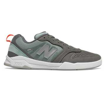New Balance Numeric 868, Grey with Teal