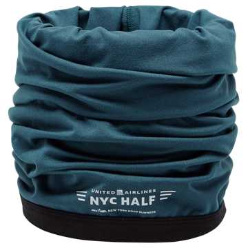 New Balance NYC Half Neck Tube, North Sea with Violet Glo