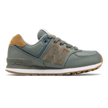 New Balance 574 Backpack, Sedona Sage with Brown Sugar