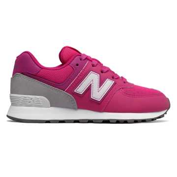 New Balance 574 Day and Night, Pink with Grey