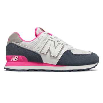 New Balance 574 Summer Sport, Vintage Indigo with Peony