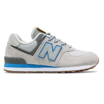 New Balance Camp 574, Rain Cloud with Lapis Blue