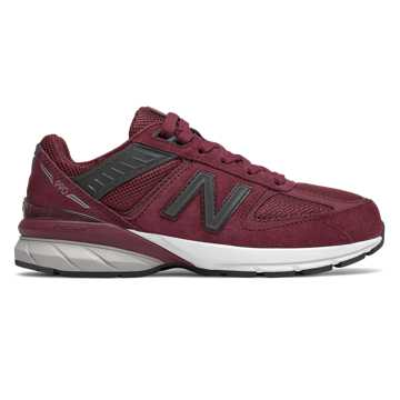 New Balance 990v5, Burgundy with Pigment